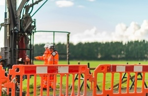 HS2 ground investigation