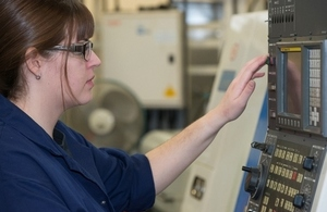 Bethan, Mechanical Engineering Apprenticeship graduate