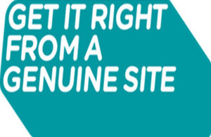 Get It Right from a Genuine Site logo
