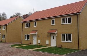 New service family homes at the Ashdown Estate.Copyright: Hill. All rights reserved