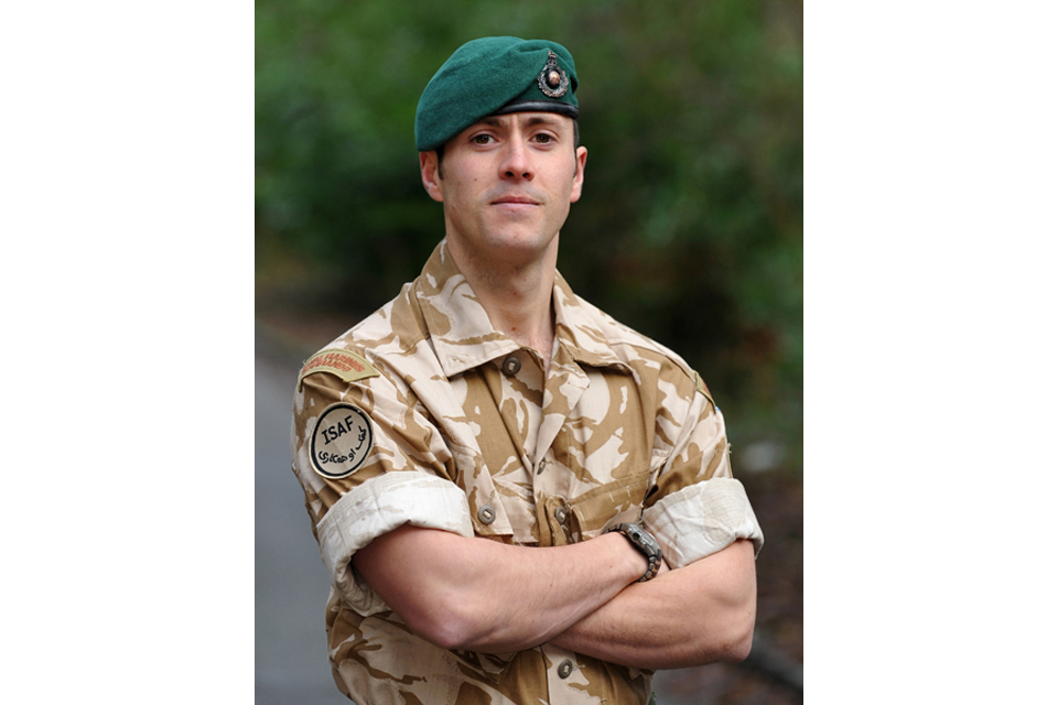 Corporal Stephen Curley (All rights reserved.)