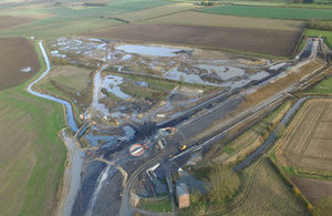 The Horncastle flood alleviation reservoir will reduce risk to 169 properties.