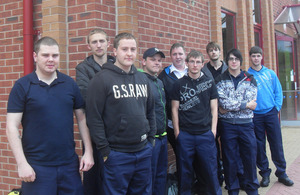 Stafford and Rural Homes trainees