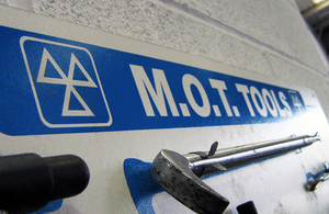 Boost for motorists as government proposes no MOT test for first 4 years.