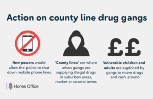 County lines drugs gangs