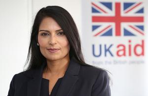 International Development Secretary Rt Hon Priti Patel MP. Picture: DFID