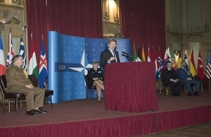 Handover of the NATO Contact Point Embassy in BiH from the UK to the