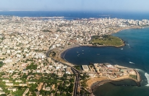 Image of the city of Dakar.