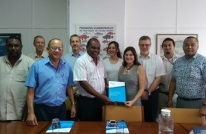 Image of the RESAT project team visiting international partners.