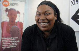 Emilyn – If I hadn't come to Centrepoint, I probably wouldn't even be alive today