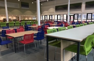 The CRL main dining area.