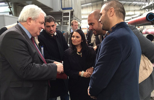 UK Development Secretary Visits a Jordanian Factory