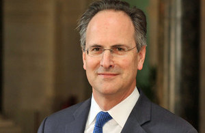 Her Majesty's Ambassador to the United Arab Emirates, Philip Parham