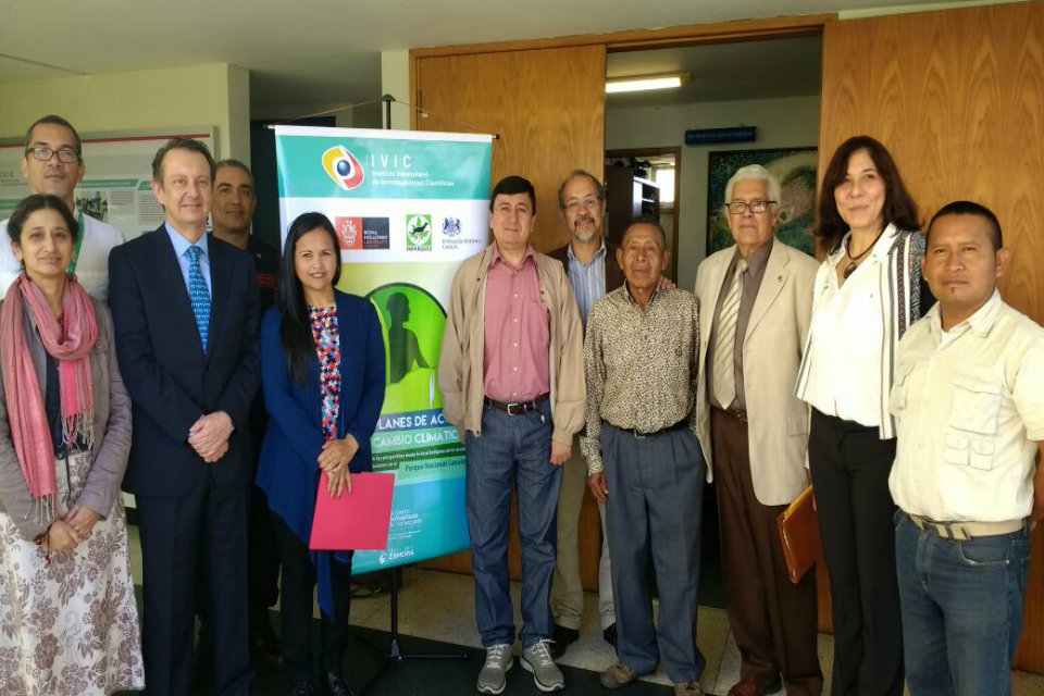 The workshop was carried out at the Venezuelan Institute of Scientific Research.