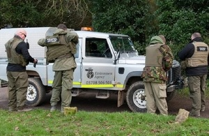 S300 environment agency fisheries enforcement officers
