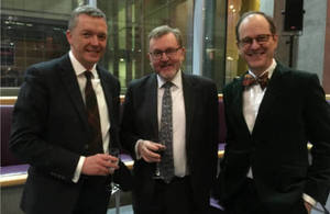 Ken Hay, David Mundell and Sir Sebastian Wood