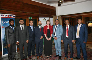 WBCC team with British High Commissioner to Bangladesh Alison Blake.