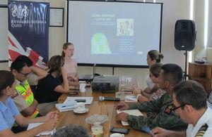 Consular outreach Galapagos