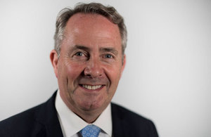 Dr Liam Fox, Secretary of State for International Trade and President of the Board of Trade
