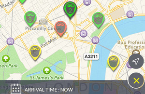 Westminster parking app.