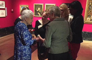 Her Majesty the Queen with female Permanent Secretaries
