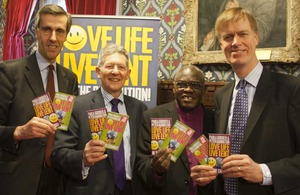 MPs and Archbishop of York at 'Love Life Live Lent' event.