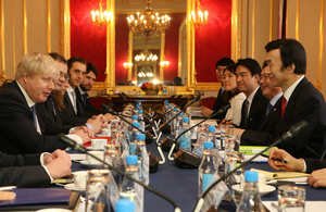Foreign Secretary hosts high-level foreign policy talks with South Korea
