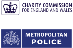 Charity Commission and Metropolitan Police Logo