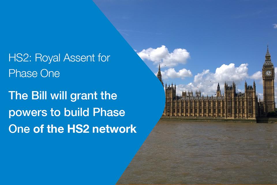 HS2 Royal Assent