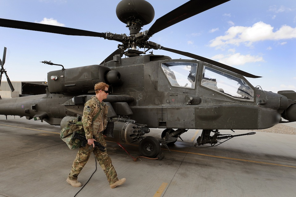 Prince Harry Camp Bastion in Afghanistan