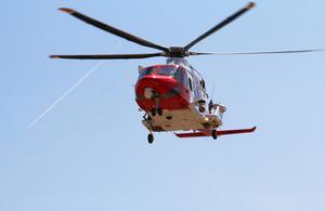 Helicopter - underside