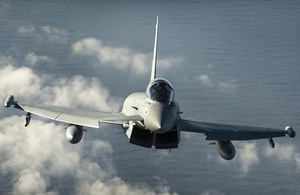 Lossiemouth, one of the RAF's three fast jet bases, is just one of the military establishments that will benefit from the £1.7bn investment in the Defence estate in Scotland.