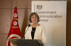 British Ambassador to Tunisia Louise De Sousa