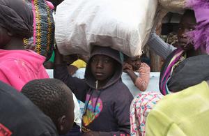 South Sudanese refugees arriving at the Bidi Bidi camp in Uganda. Picture: EU-ECHO/Bertha Wangari