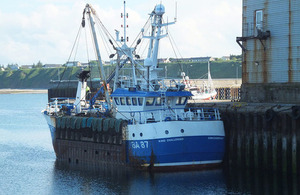 Photograph of scallop dredger King Challenger
