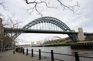 Photo of Newcastle skyline with its famous bridge