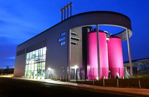 Building view of Gateshead Energy Centre