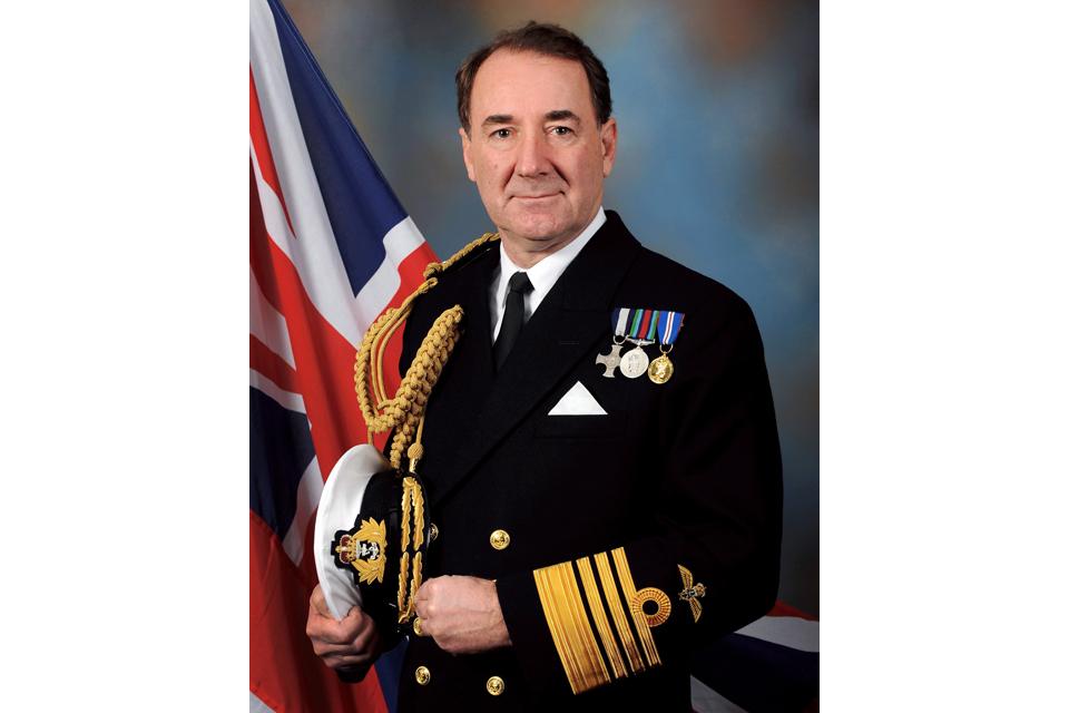 Admiral Sir George Zambellas KCB DSC