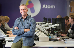 Anthony Thompson, Founder and Chairman of Atom Bank