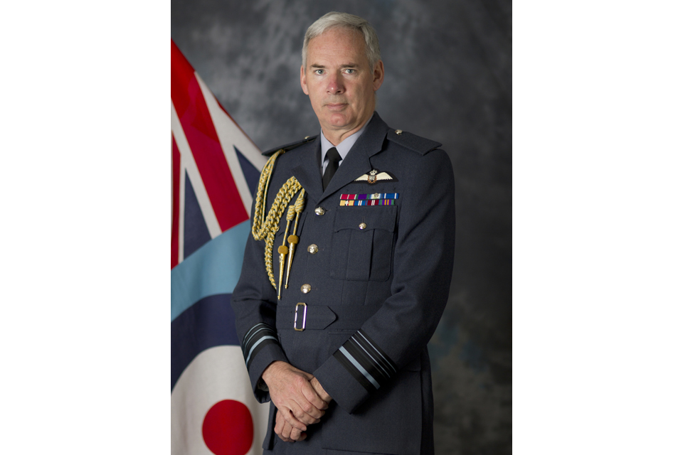 Air Marshal Sir Andrew Pulford KCB CBE