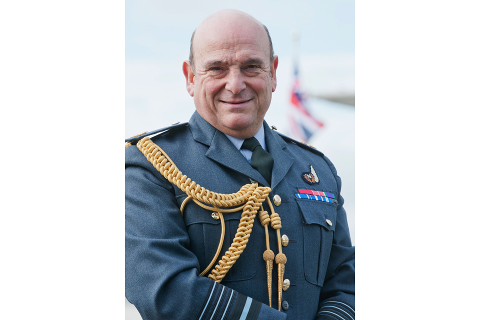 Air Chief Marshal Sir Stuart Peach KCB CBE ADC