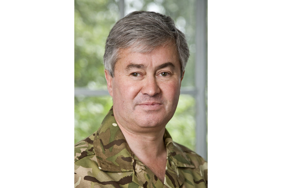 Lieutenant General Richard Barrons CBE