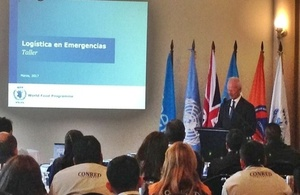 DFID event in Guatemala