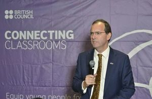 British High Commissioner Fergus Cochrane-Dyet