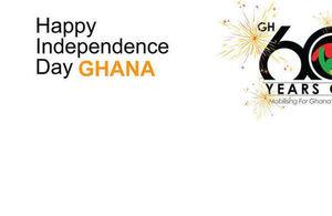 Ghana at 60 Post Card