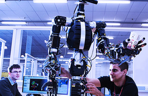 Researchers developing advanced robotic systems
