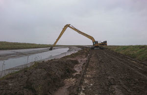 The Environment Agency has carried out de-silting work at Tetney Haven.