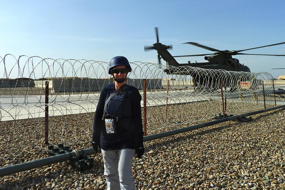 Christa in Helmand