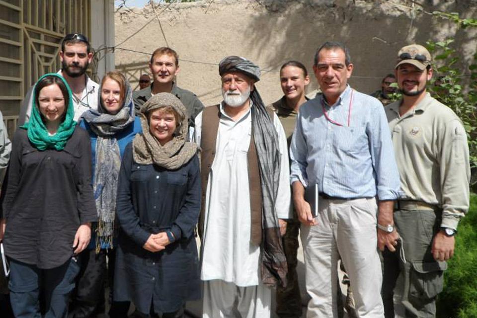 Helen Jones in Musa Qala