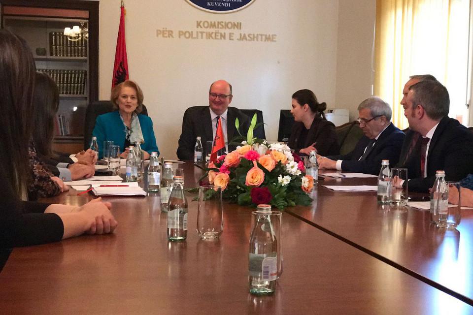 UK-Albania bilateral affairs